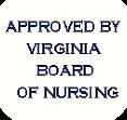 Virginia Board of Nursing logo